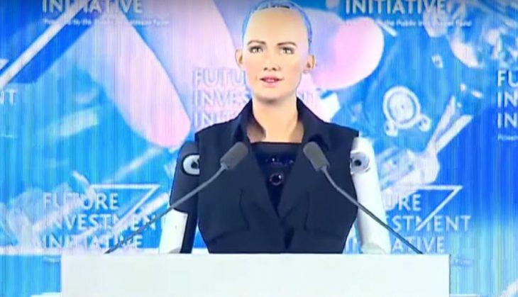 robot sofia arabia saudita