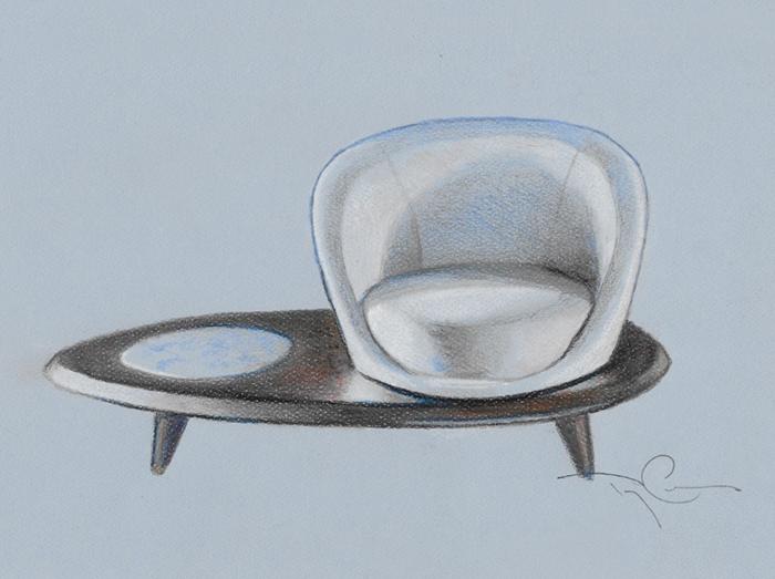 Diseño de muebles de Terry Crews
