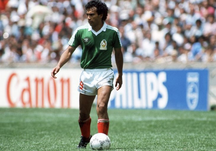 Hugo Sánchez en la selección mexicana