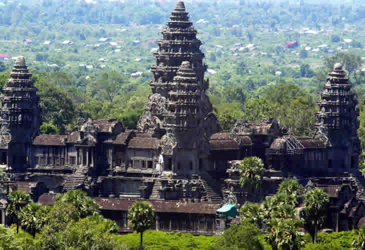 el imperio Khmer