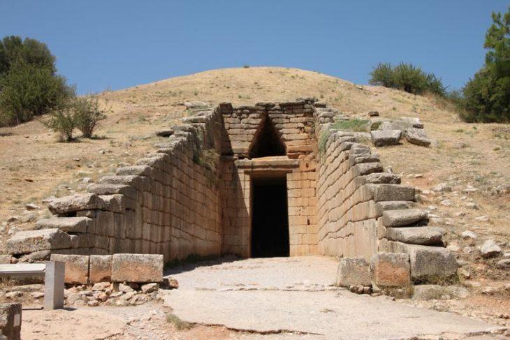 Ruinas en Micenas