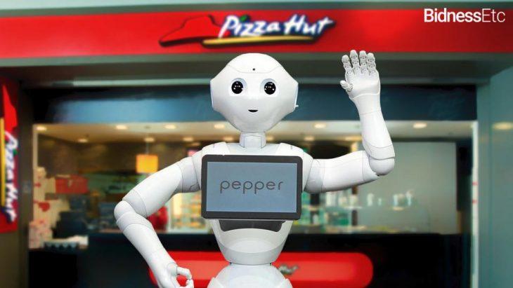 robot cajero