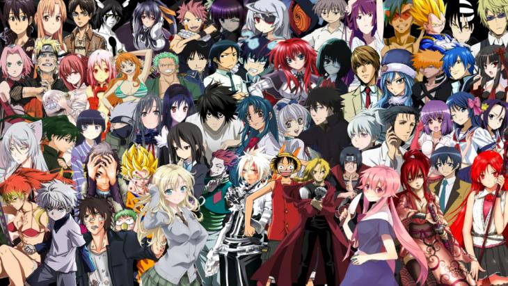 Personajes de Animé