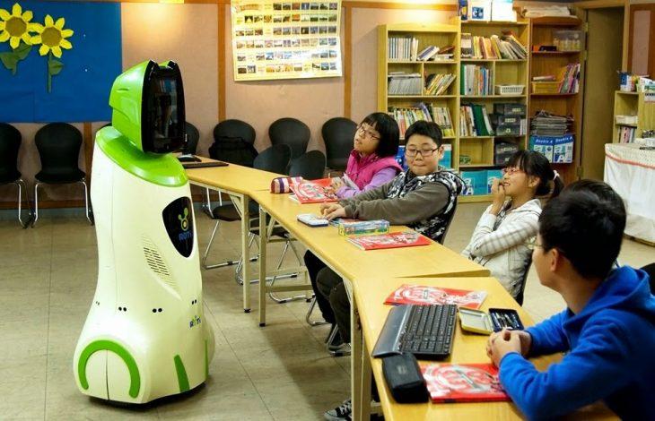 profesores robots