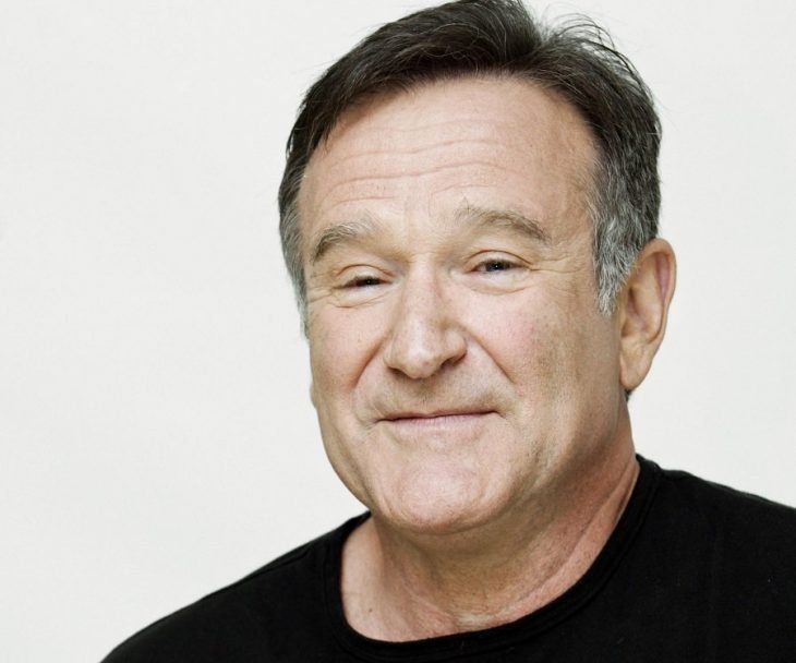 Robin Williams sonríe