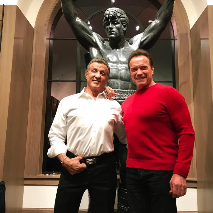 Sylvester Stallone y Arnold Schwarzenegger