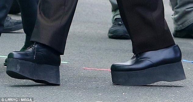 Zapatos de De Niro en película