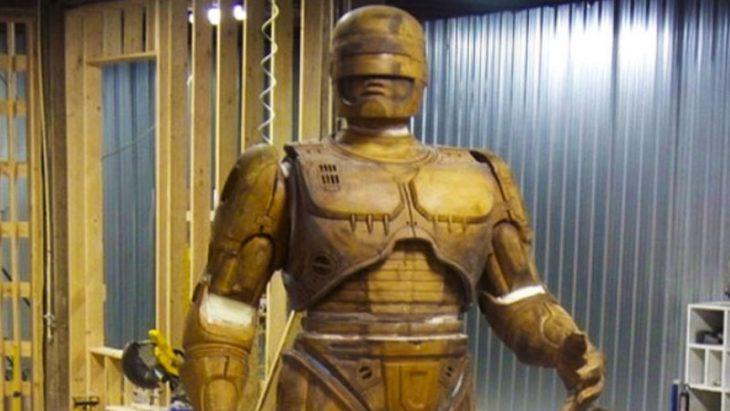 Robocop estatua