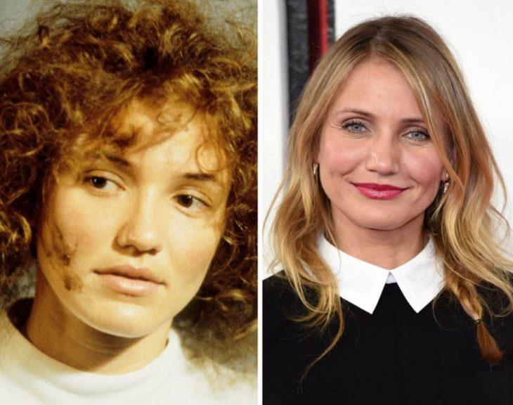 cambios físicos de famosos