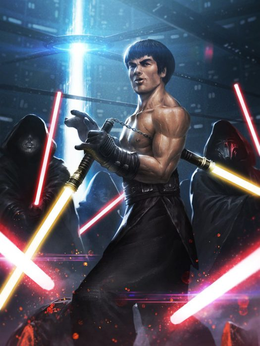 Bruce Lee en Star Wars