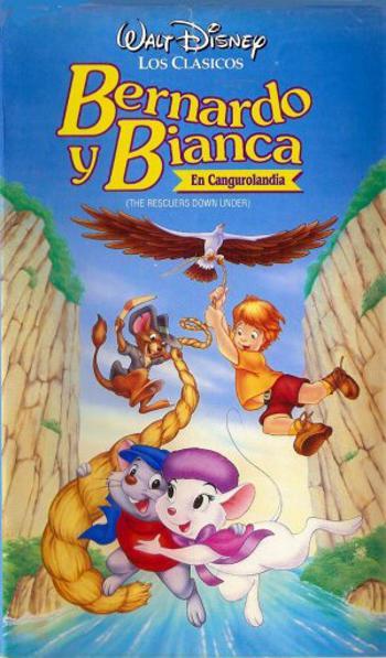 Cartel de Bernardo y Bianca