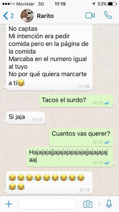 Conversación extraña