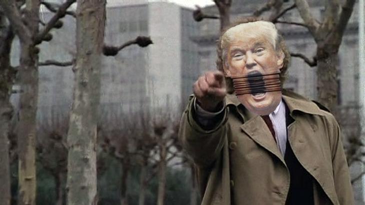 Trump en Batalla de Photoshop