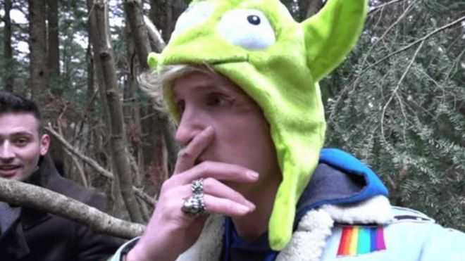 Logan Paul, youtuber