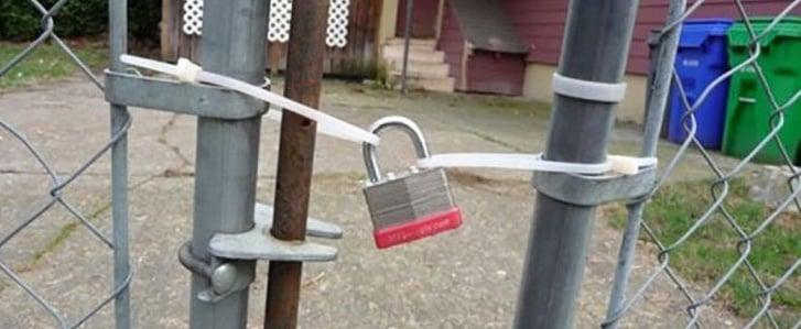 sistemas de seguridad caseros e inútiles