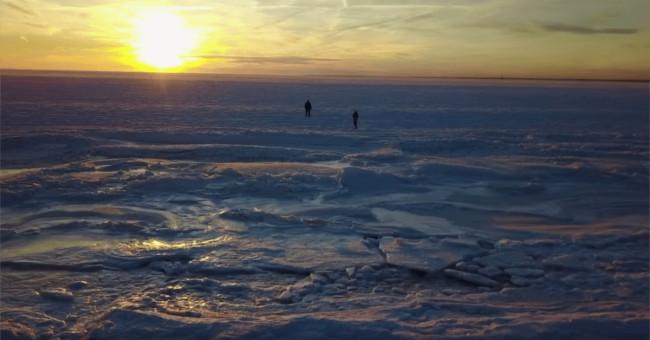 oceano congelado