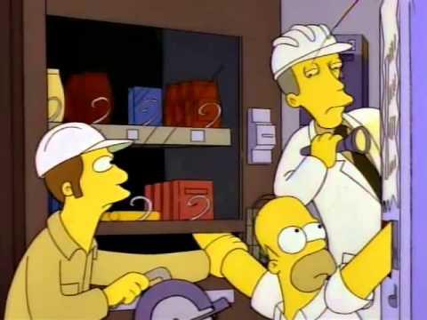 ¿Homero, estás apretando la lata