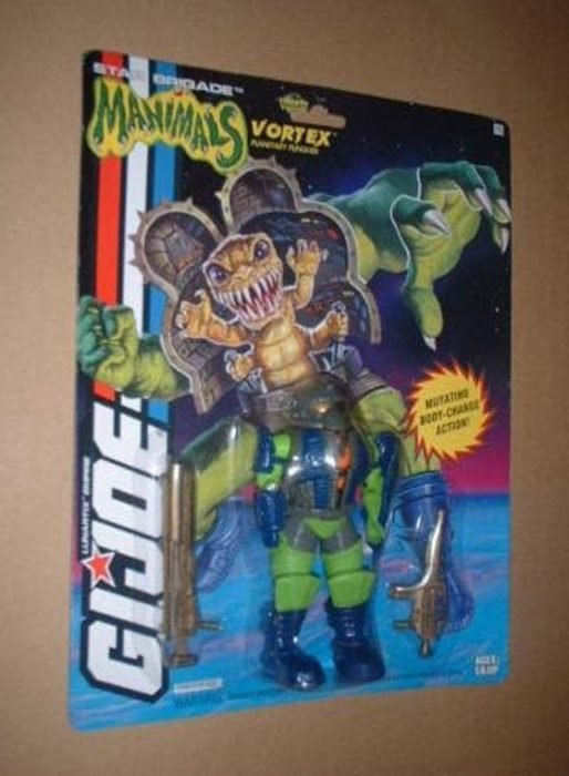 G.I. Joe Manimals Vortex MOC C-7