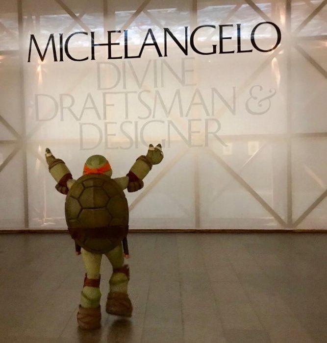 Miguel Ángel en exposición