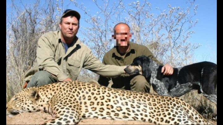 cazador muere aplastado