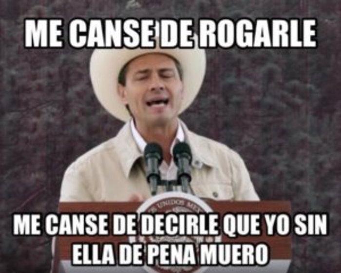 peña nieto vaquero meme