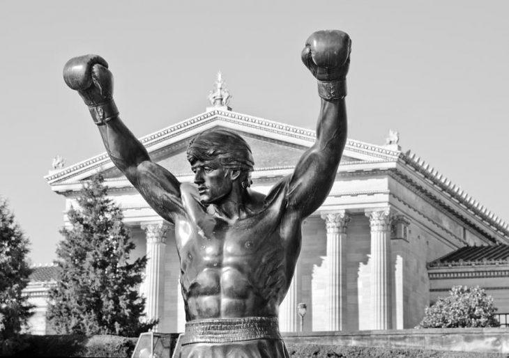 Rocky Balboa estatua