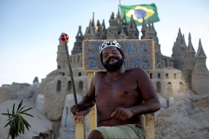 Vive en castillo de arena