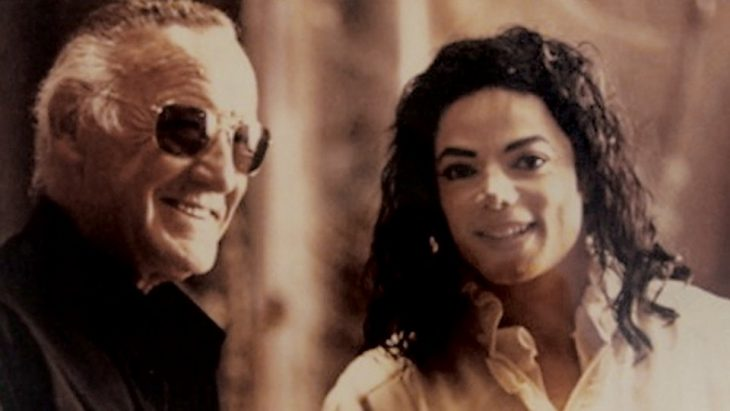 stan lee and michael jackson