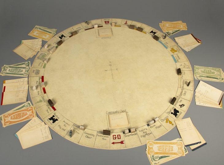 Tablero original de Monopoly