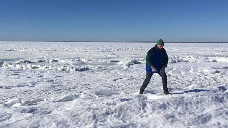 mar congelado ciclon bomba