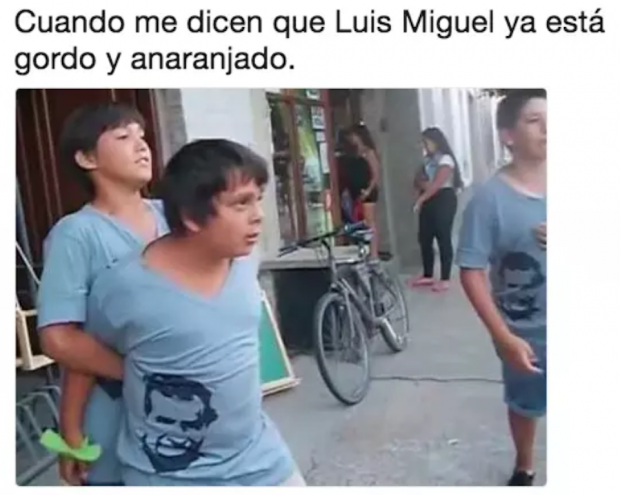 Niño pelea meme