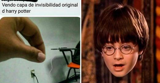 COVER Buscaba artículos de Harry Potter en Facebook