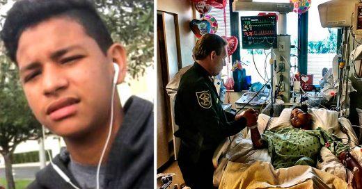 COVER Con 15 años usó su cuerpo para salvar a 20 compañeros