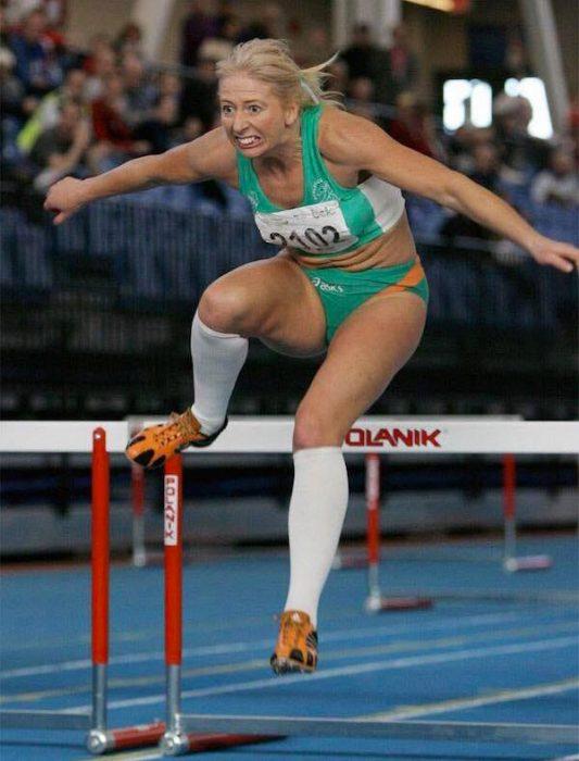 Atleta en carrera