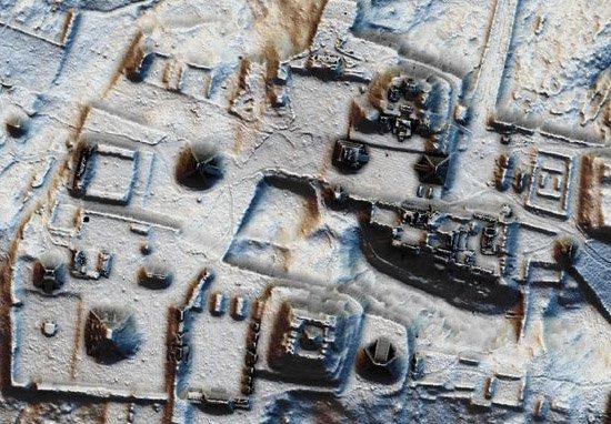 Ciudad perdida de los mayas
