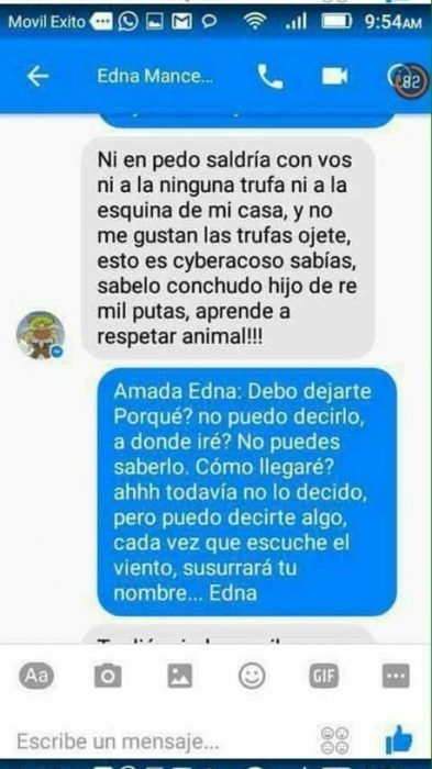 Carta a Edna