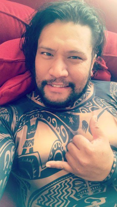 Cosplayer de Maui de Moana