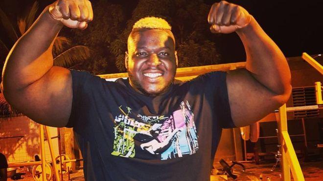 Iron Biby hombre fuerte