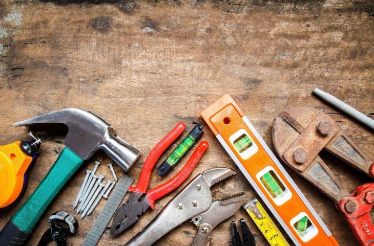 mejorando la casa herramientas