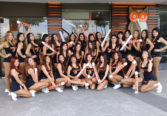 Chicas de Hooters México