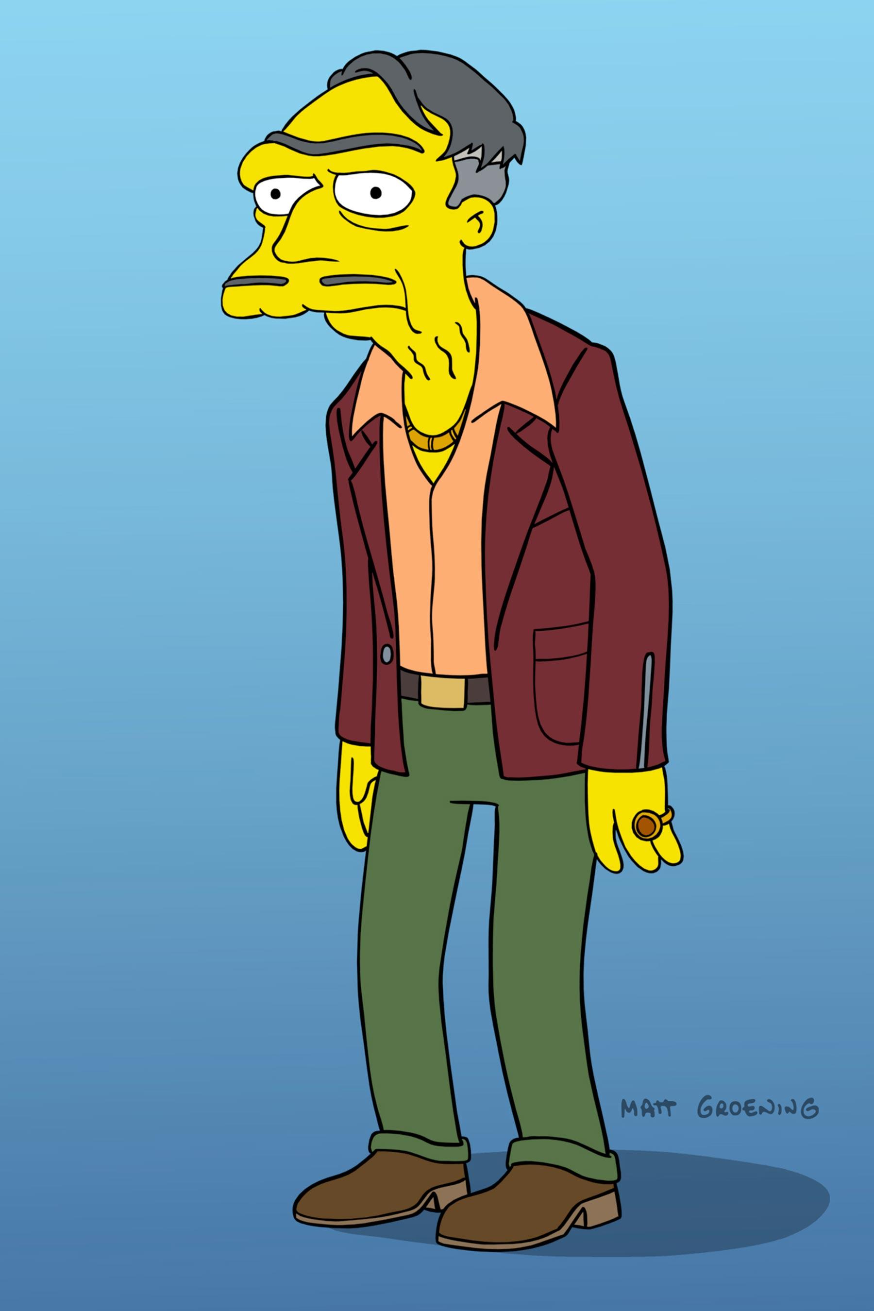 Fox revela la imagen Morty, el padre de Moe Szyslak.
