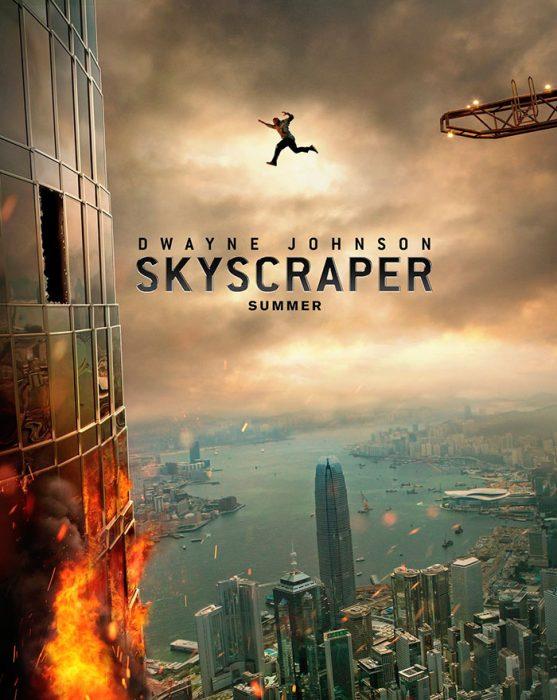 Cartel de Skyscraper