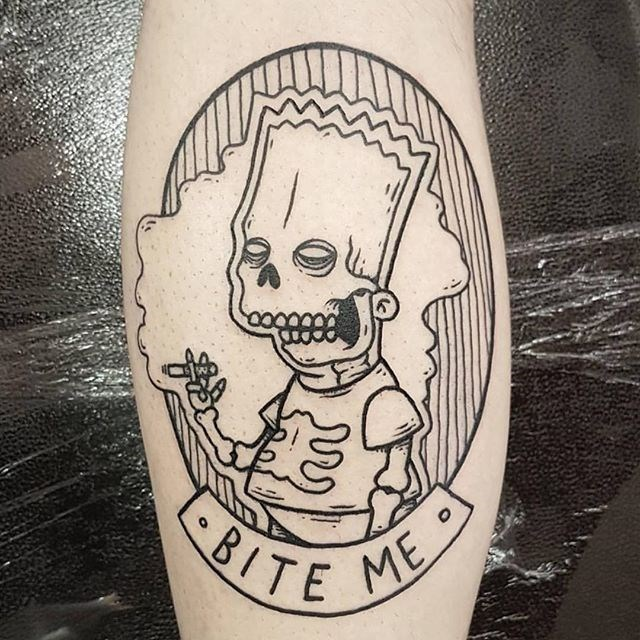 Tatuajes de Los Simpson