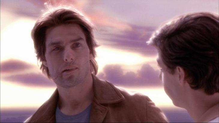 Tom Cruise en escena de Vanilla Sky
