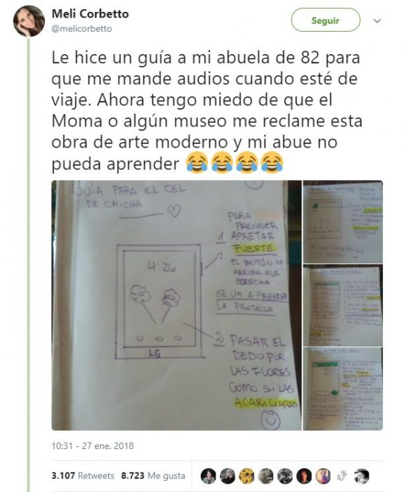 tutporial abuelita whatsapp