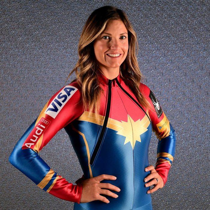 Atleta olímpica de invierno