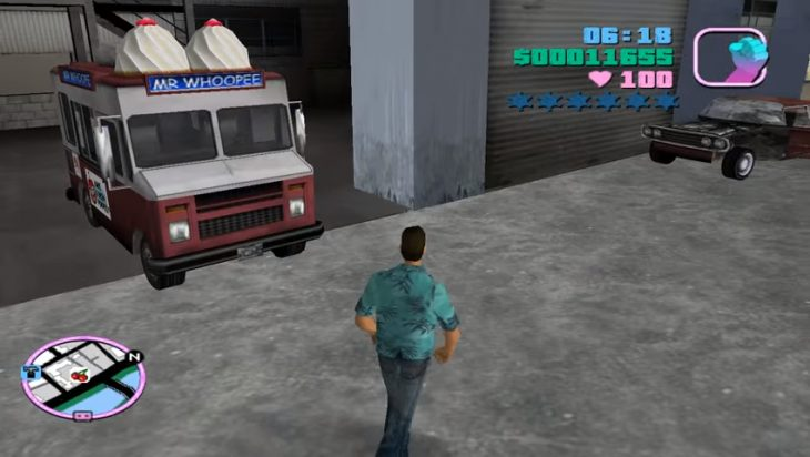 gta vice city helado
