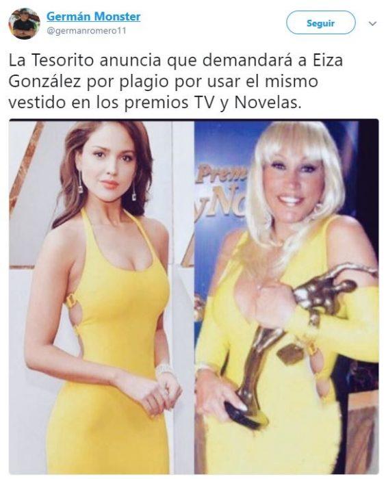 Memes Eiza Gonzáles