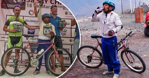 COVER segundo lugar de la carrera más difícil de México, en una bicicleta de 'panadero'
