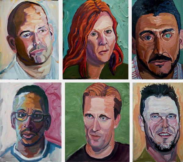 George Bush pinturas